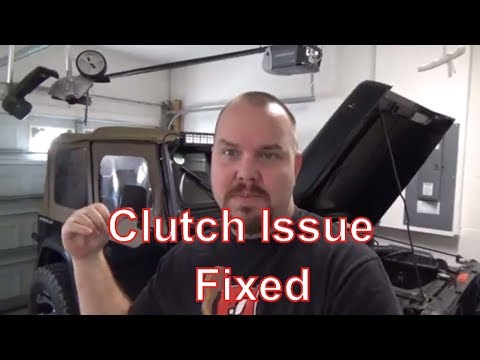 Temp Fix Jeep Wrangler Clutch Won't Engage || Jeep Mods E07