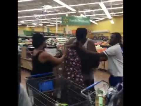 Hurricane Matthew Walmart Fight Over Water
