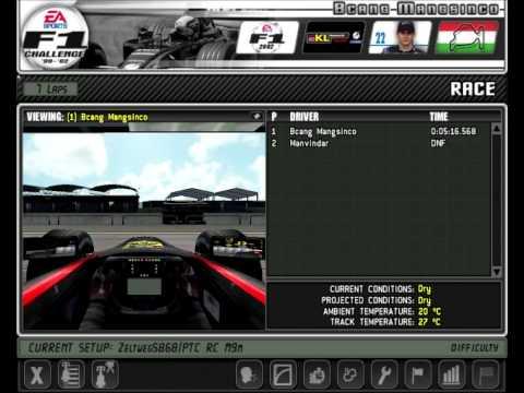 F1 game setups
