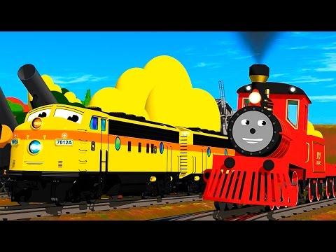 Dessin Anime - Train Shawn Francais - Apprends les tailles
