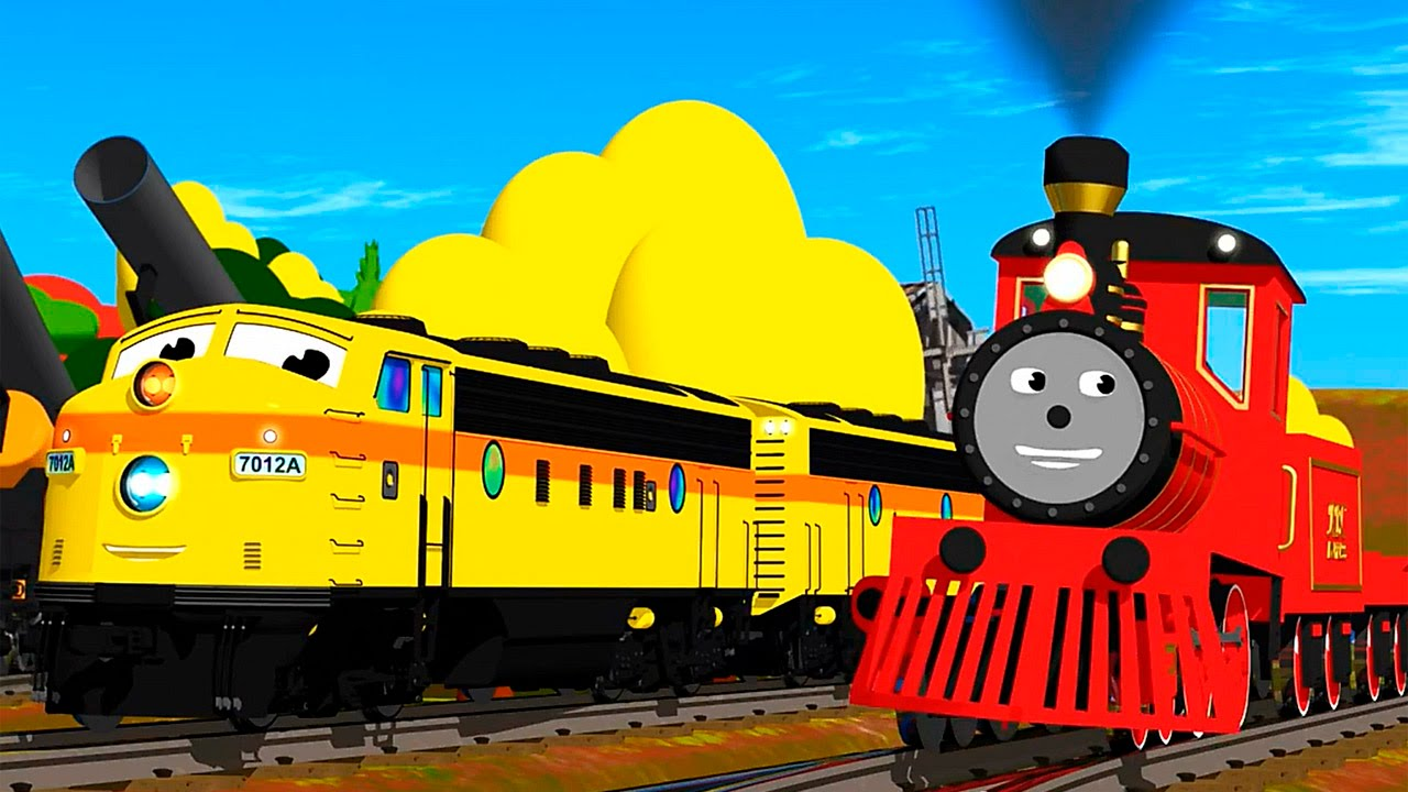 Dessin anime train shawn francais apprends les tailles youtube - Train dessin anime chuggington ...