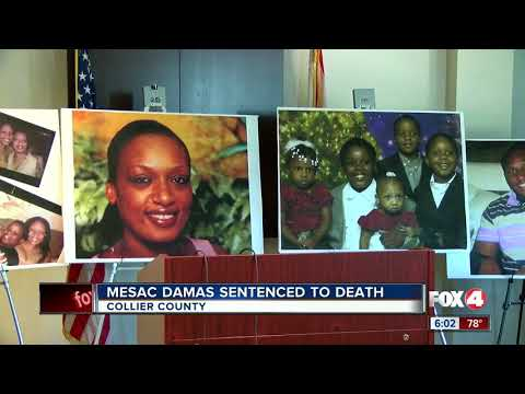 Mesac Damas sentenced to death after murdering family in 2009