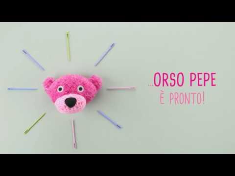 MANI DI FATA  Kit Orso Pepe