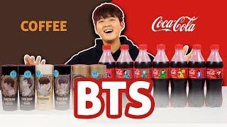 REVIEW FULL BỘ COCA COLA &  COFFEE BTS   COCA HÀN QUỐC VS COCA VIỆT NAM   REVIEW SIÊU NHANH