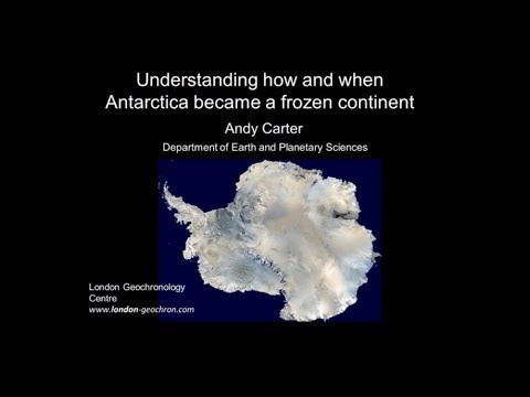 [Science Week 2017] Understanding how and when Antarctica became a frozen continent