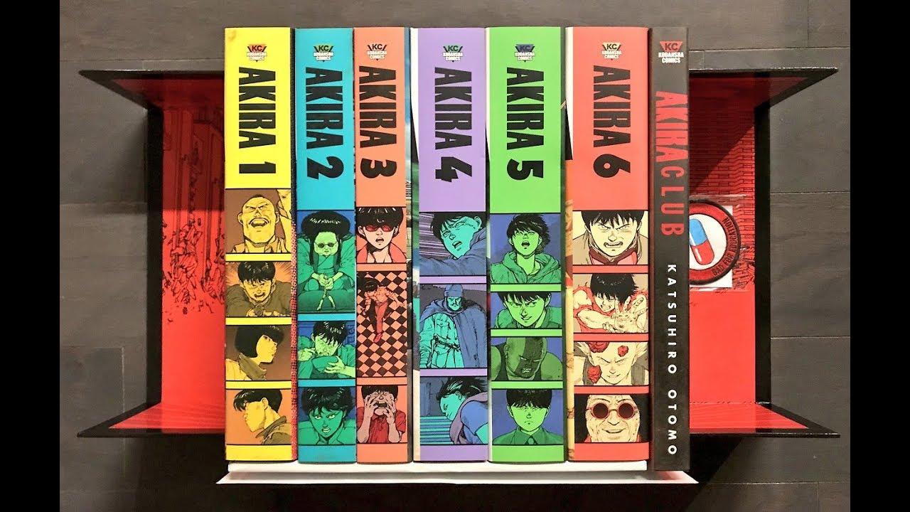 Akira 35th Anniversary Manga Box Set Unboxing Youtube