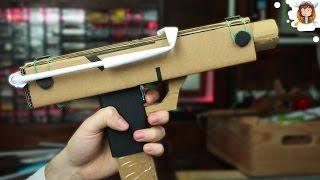 Como fazer uma Uzi - Arma de papel / Cartão