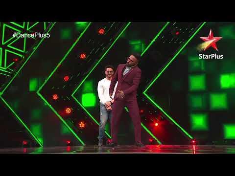 Dance+ 5   Dharmesh And Tiger Shroff Dance Together