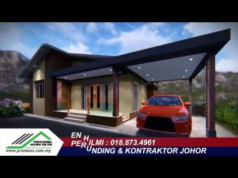 3d Model Fd3 Kontraktor Bina Rumah Johor Youtube