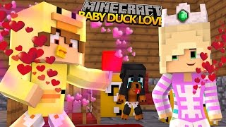 Minecraft donut the dog adventures is baby duck in love with baby