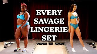 We Try Every Lingerie Set From Savage X Fenty