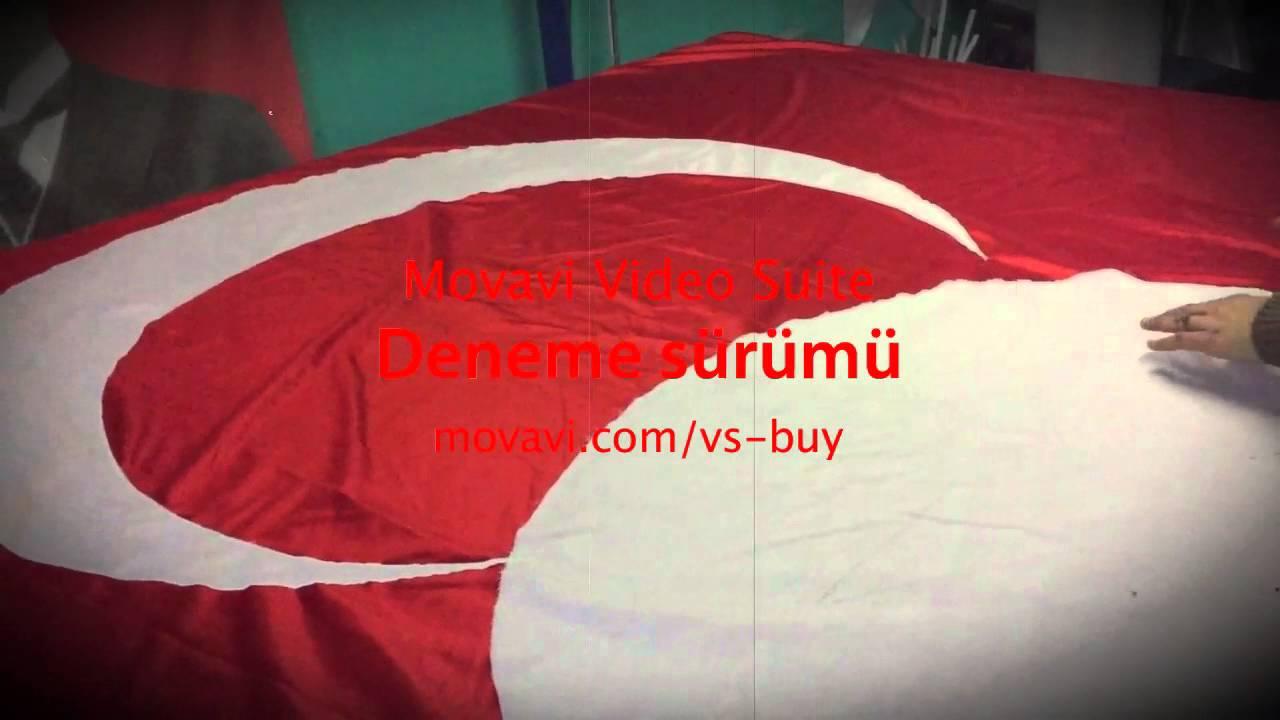 Türk Bayrağı Imalatı Nasıl Yapılır Youtube