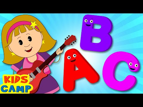 ABC Song for Children  Nursery Rhymes from Kidscamp