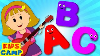 ABC Song | ABC Songs for Children | Nursery Rhymes | 123 Minutes Compilation from Kidscamp