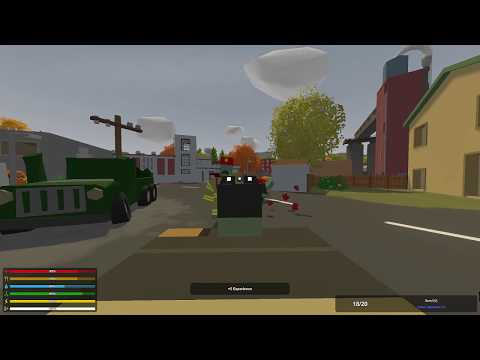 Unturned | Day-Z Map Part 1