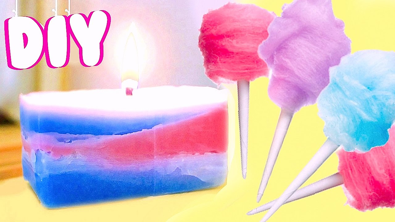 How To Make Cotton Candy Candle Diy Room Decor