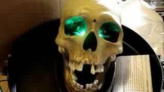 skull candy dish.