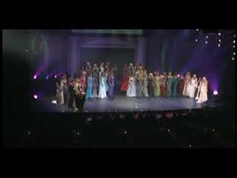 Venessa Fisher final walk as Miss Canada