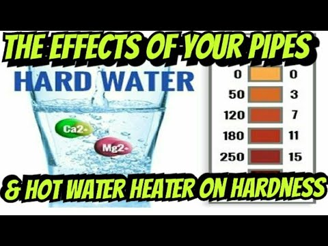 Accurate Water Changes - Hot vs. Cold Water & The PH, Gh, Kh & TDS Hardness of Your Water Heater