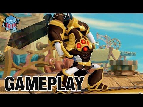 Skylanders Trap Team KRYPT KING Gameplay Preview