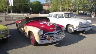 1 мая 208г.  выставка ретро машин пл. П.С. Нахимова Севастополь
