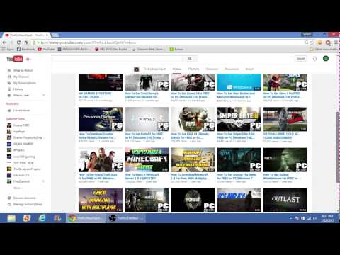 Youtube Channels that show you how to get games for free