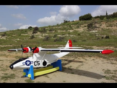 Catalina PBY 100' (2.5m) RC Flying Boat by Aris Kosmides - YouTube