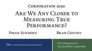 Corporation 2020: Are we any closer to measuring True Performance?