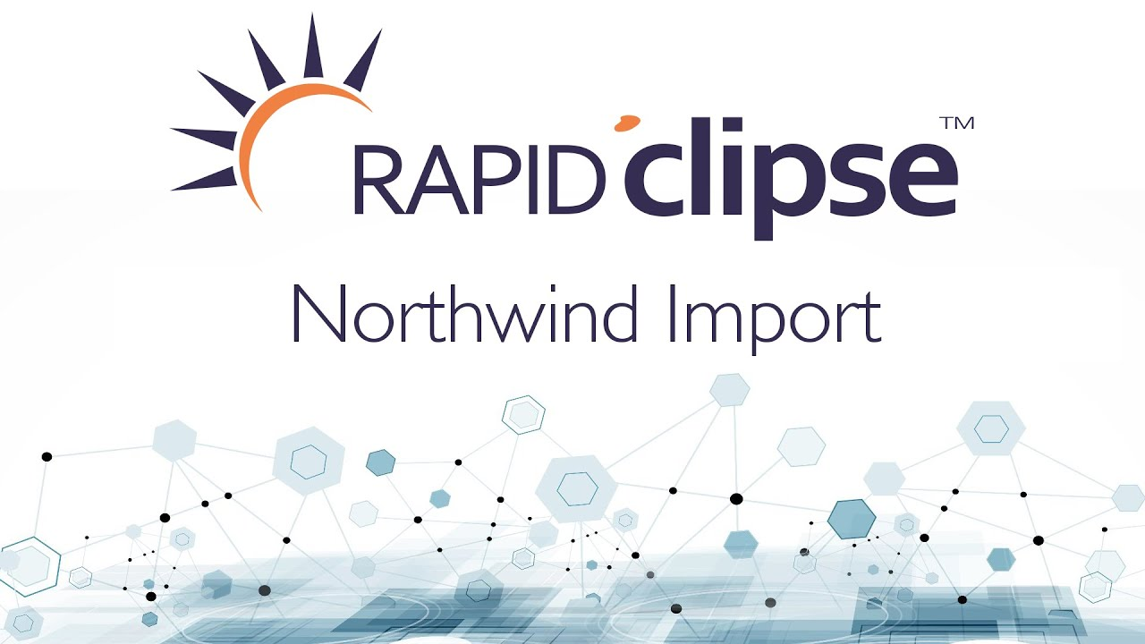 RapidClipse - Import Northwind DB