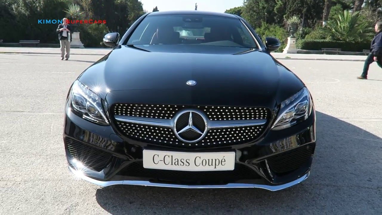 New 2017 Mercedes Benz C Class Coupe Exterior Interior Youtube
