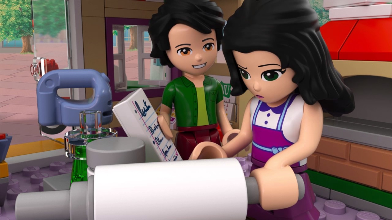 Heartlake Pizzeria Lego Friends 41311 Product Animation Youtube