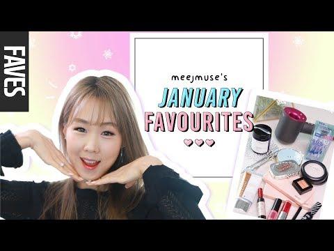 JANUARY FAVOURITES 2018: I'm Back! Korean & Non-Korean Beauty Products! meejmuse