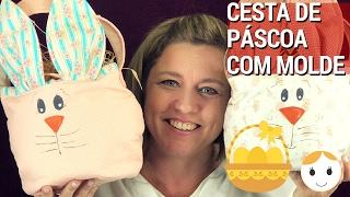 CESTA DE PÁSCOA ROSTO DE COELHO