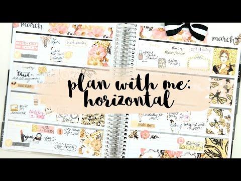 Plan with Me: Horizontal Erin Condren