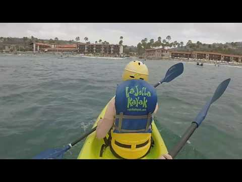 Kayaking La Jolla, San Diego County, California, August 2015