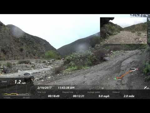 Trabuco Canyon - AKA Holy Jim Canyon -  Front and Rear View
