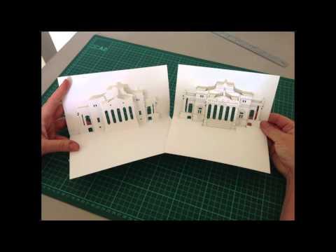 La Rotonda: Pop-up Italian Renaissance Villa, Jean Kropper, Paper & Pixel