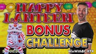 ⭕ BIG BONUS CHALLENGE on 🏮 Happy Lantern Lightning Cash