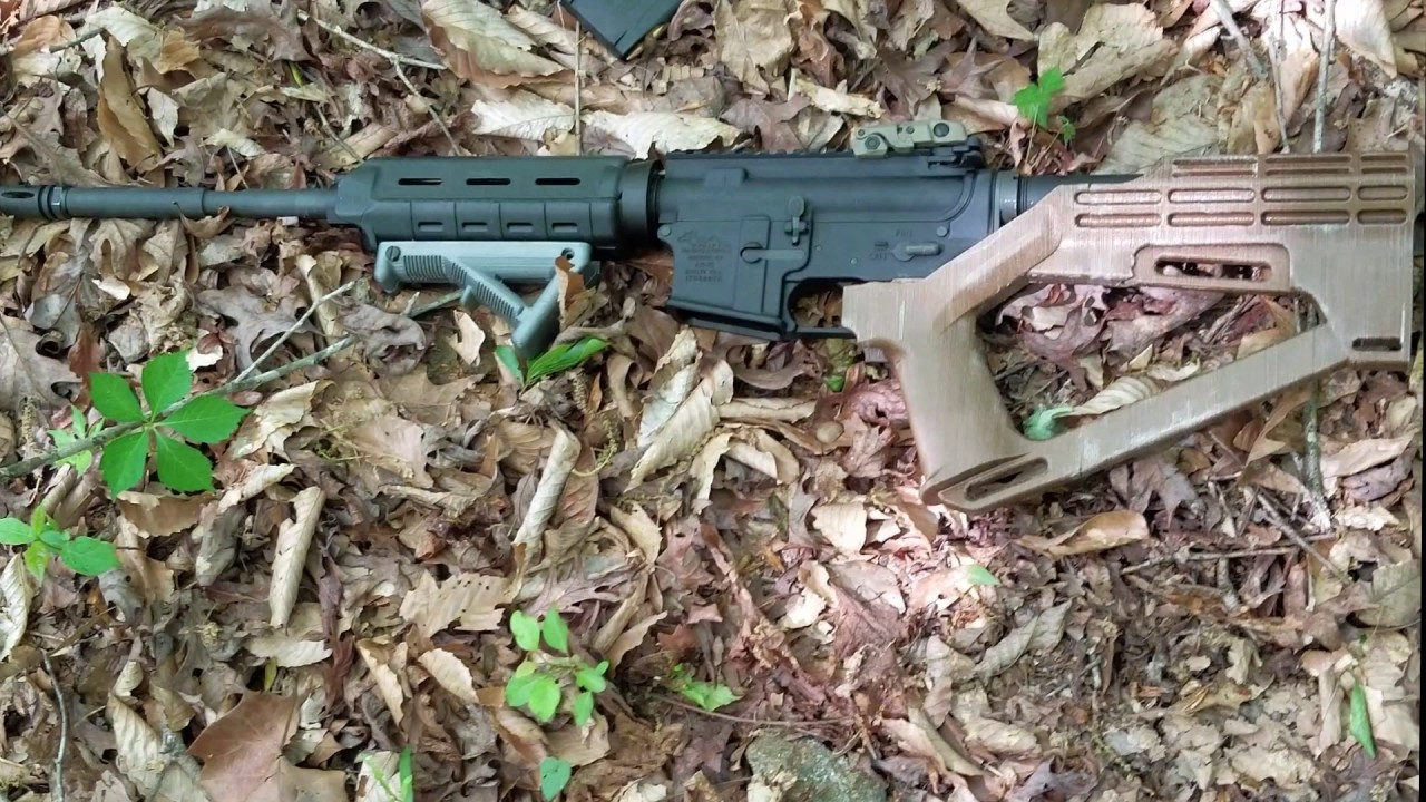 What Is and Can You 3D Print a Bump Fire Stock in the US