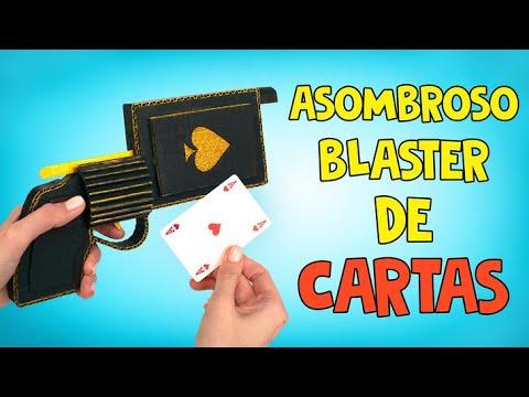 Una pistola de cartas para el show de magia de Sam ♥️♠️