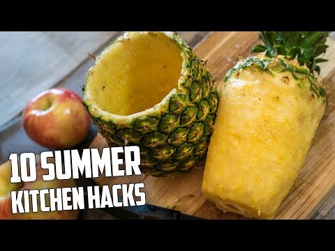10 Awesome Summer Kitchen Hacks
