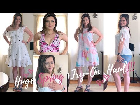 HUGE Spring Try-On Haul!! HauteLook, Saks Off 5th, Nordstrom Rack, and more