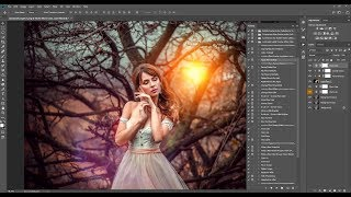 How to apply and use Photoshop overlays