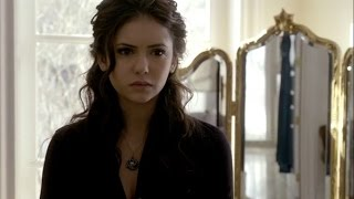 The Vampire Diaries: 1x19 - Elena's preparing, Damon shows up and talks about Stefan [HD]