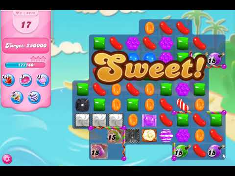 Candy Crush Saga Level 4212 NO BOOSTERS