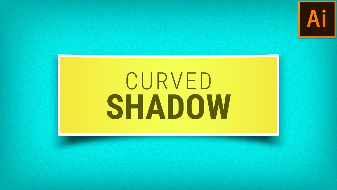 How to design a logo with shadows in illustrator tutorial
