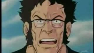 太陽の牙ダグラムの稀代の悪政治家ラコックの最後 「この寄生虫が!」 名セリフですw.