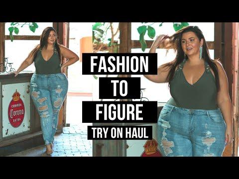 PLUS SIZE FASHION TRY ON HAUL | Fashion To Figure Denim | Sometimes Glam. http://bit.ly/2zwnQ1x