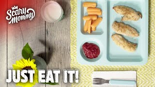 Fast & Easy Chicken Fingers That Are So Good They Might Not Want Ketchup | Just Eat It | Scary Mommy