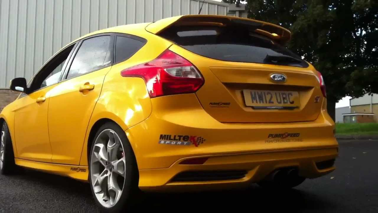 focus st mk3 prototype exhaust system and focus rs mk1. Black Bedroom Furniture Sets. Home Design Ideas